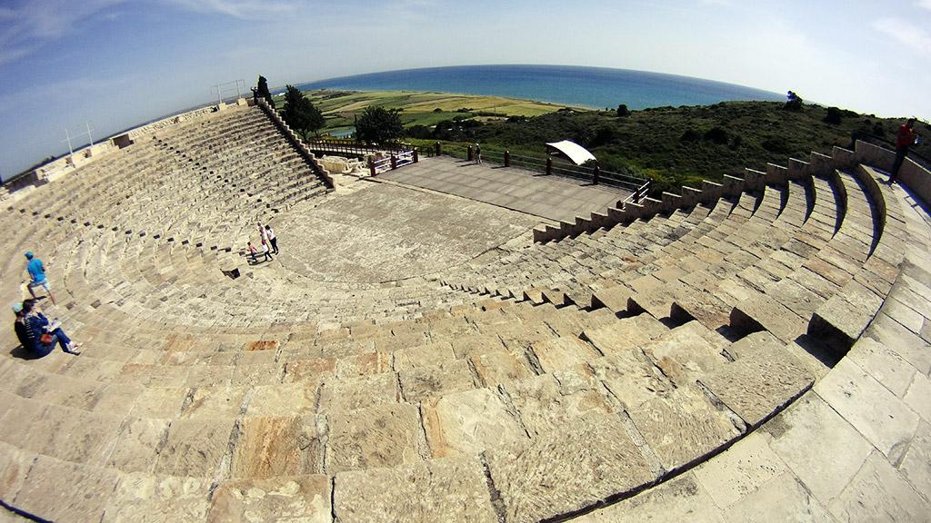 Amfiteatar Kurion Kourion Limasol Kipar
