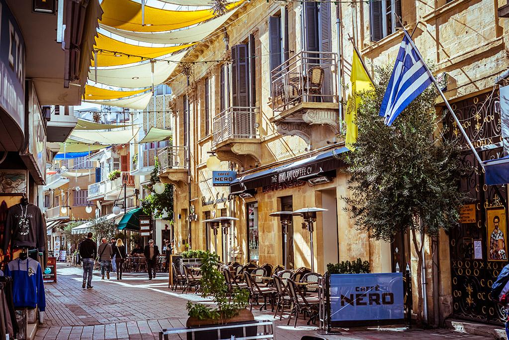 Ulica Ledra Nikozija Kipar