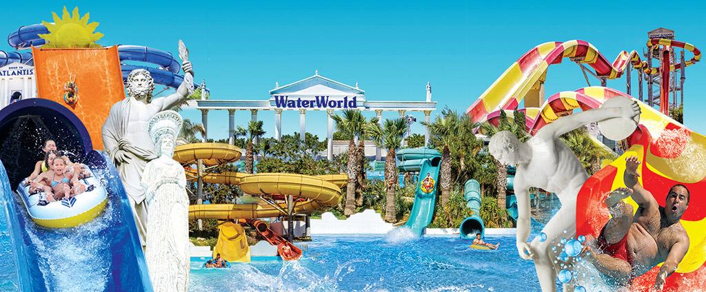 Aqua park WaterWorld Aja Napa Kipar