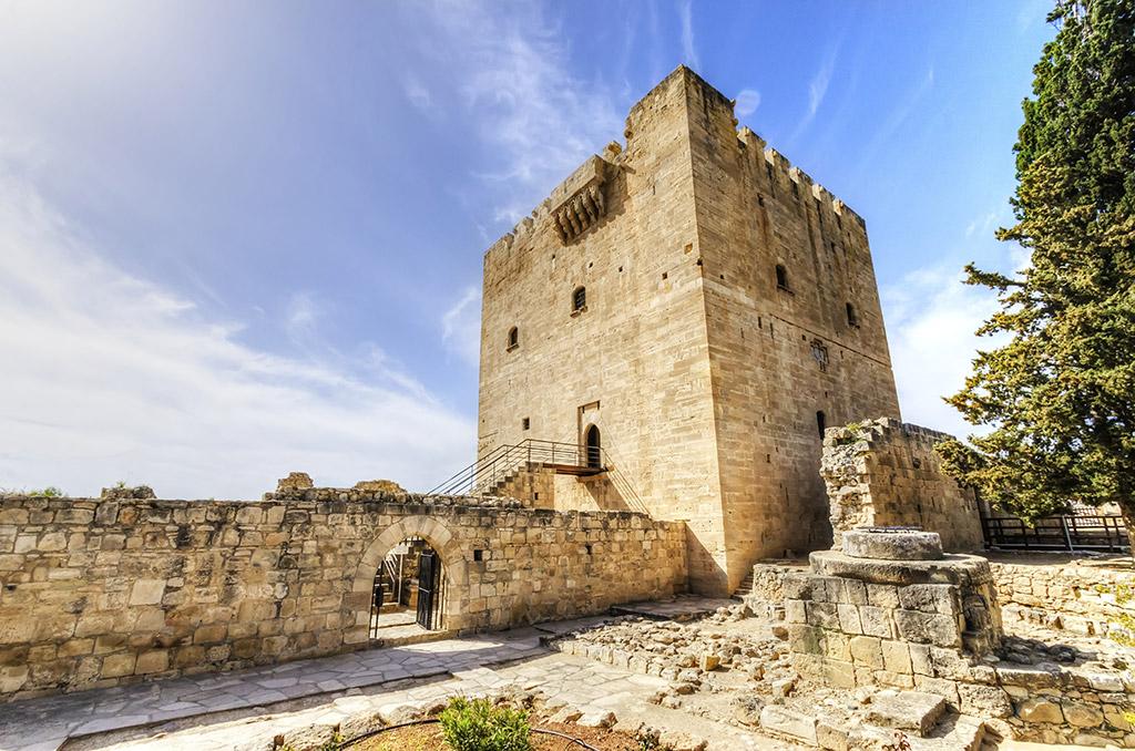 Zamak Kolosi Limasol Kipar