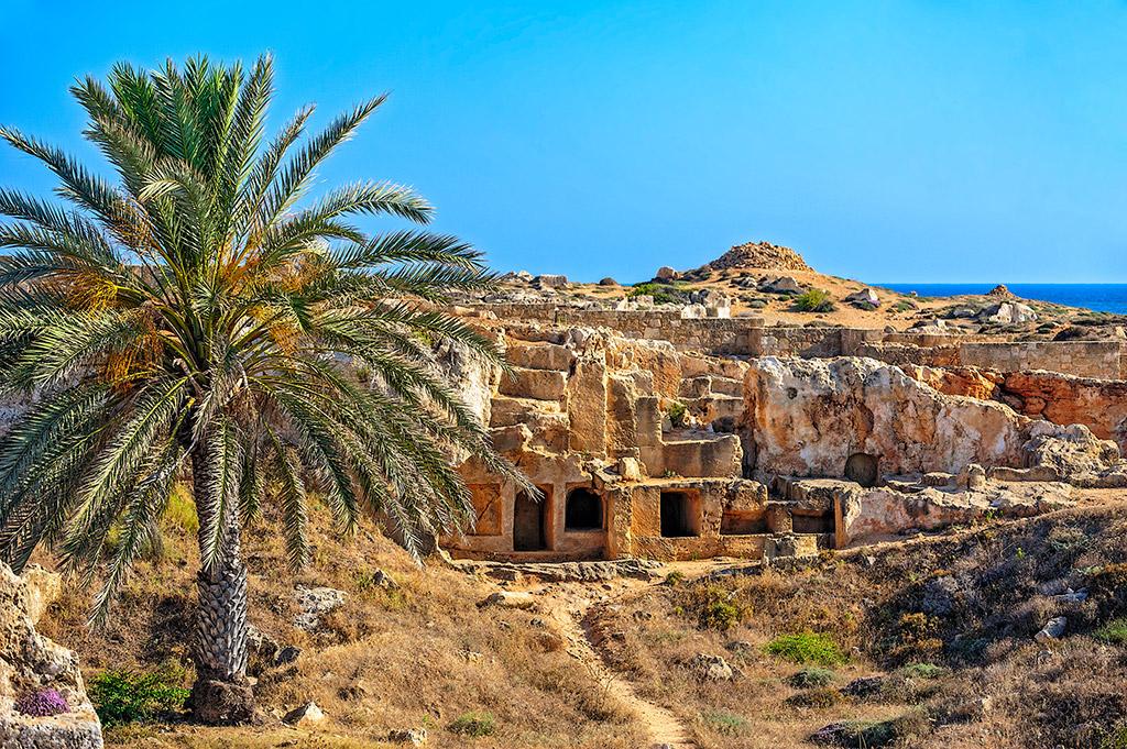 Grobnice kraljeva Tombs of the Kings Pafos Kipar