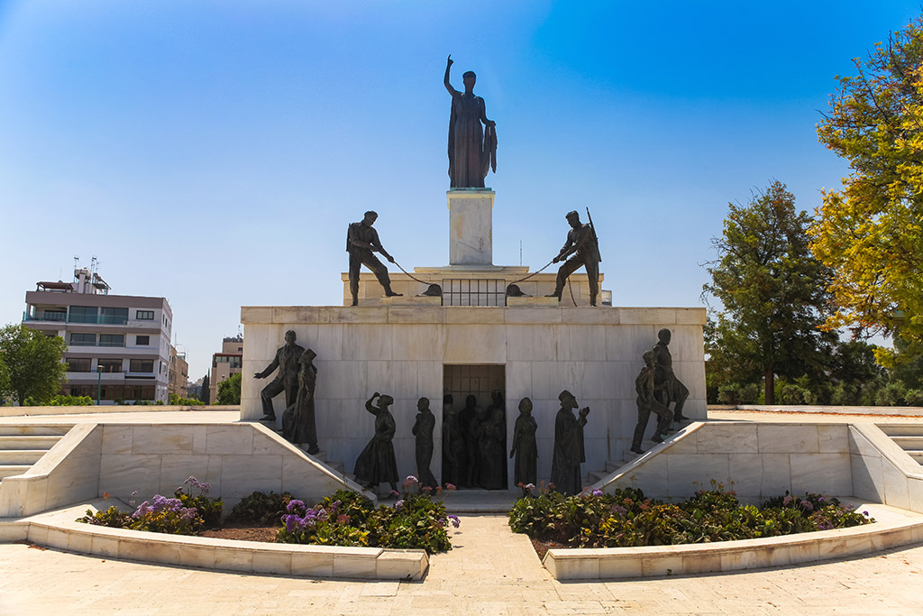 Spomenik slobode Nikozija Kipar