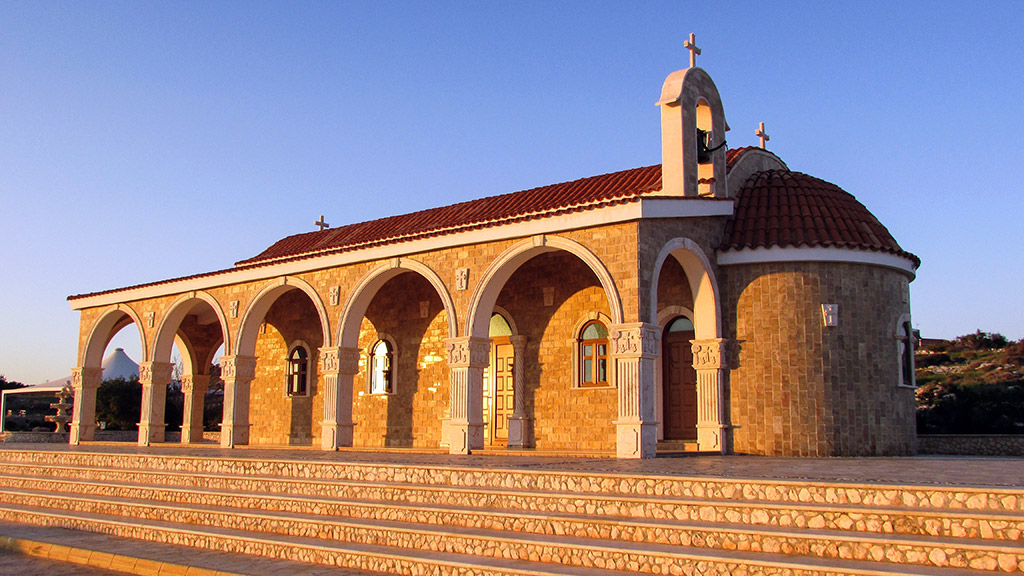 Kapela Agios Epiphanios Aja Napa Kipar