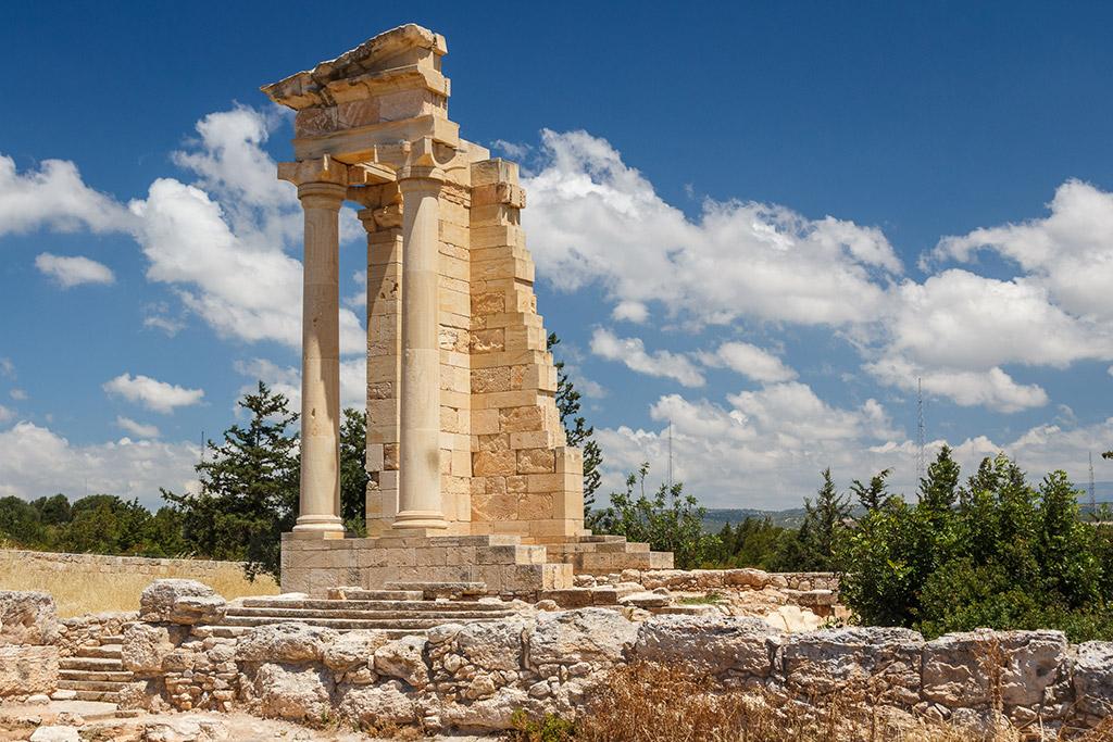 Svetiliste Apolo Hilatesa Limasol Kipar