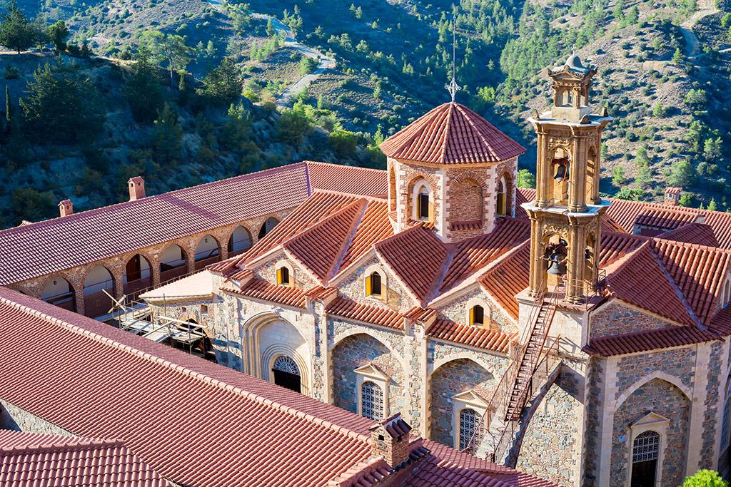 Manastir Maheras Nikozija Kipar