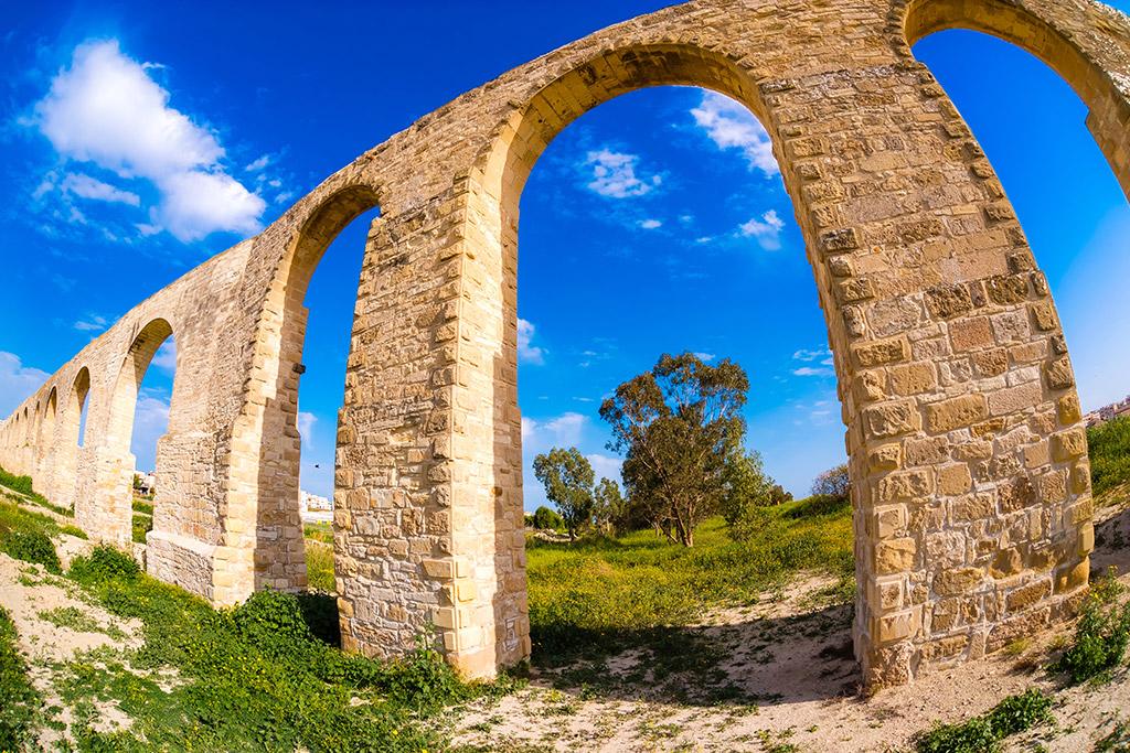 Kamares Aqueduct Larnaka Kipar