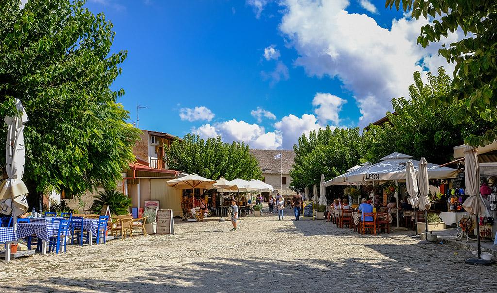 Selo Omodos Limasol Kipar