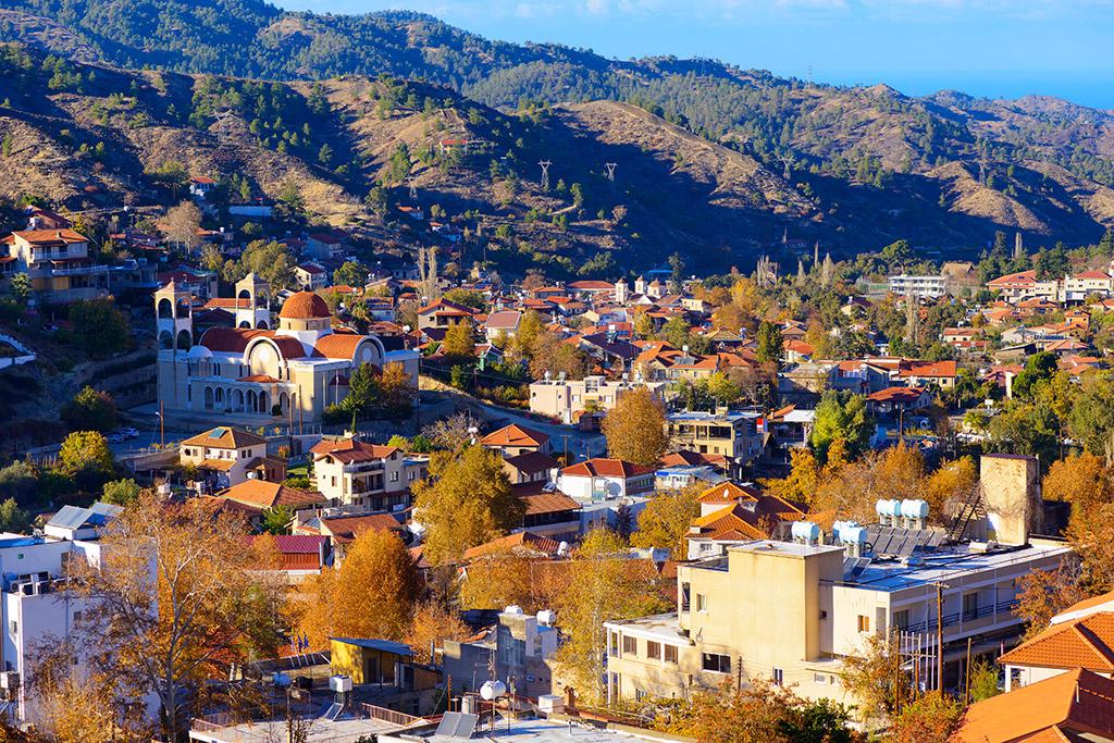 Selo Kakopetria Kipar