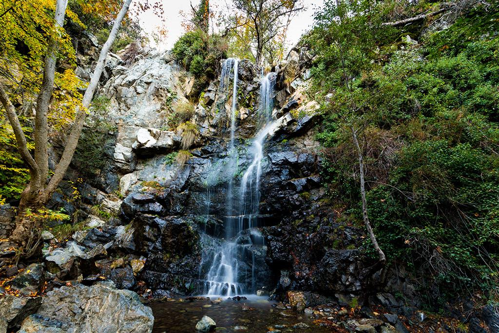 Vodopad Kaledonija Caledonia Platres Kipar