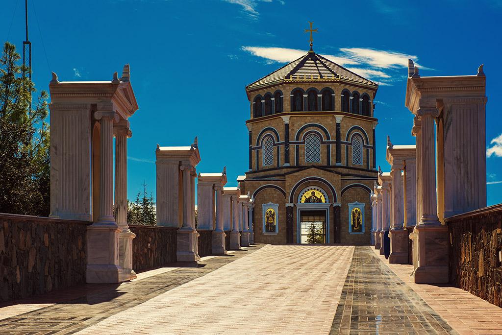 Manastir Kikos Nikozija Trodos Kipar
