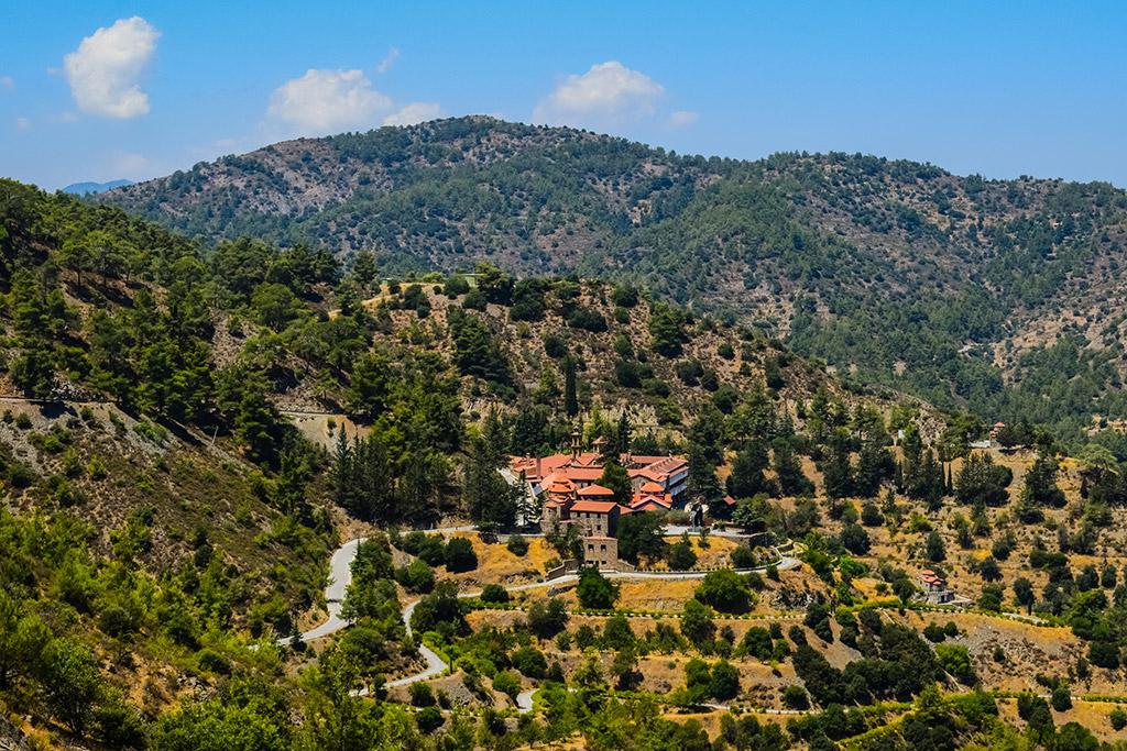 Planina Trodos Kipar