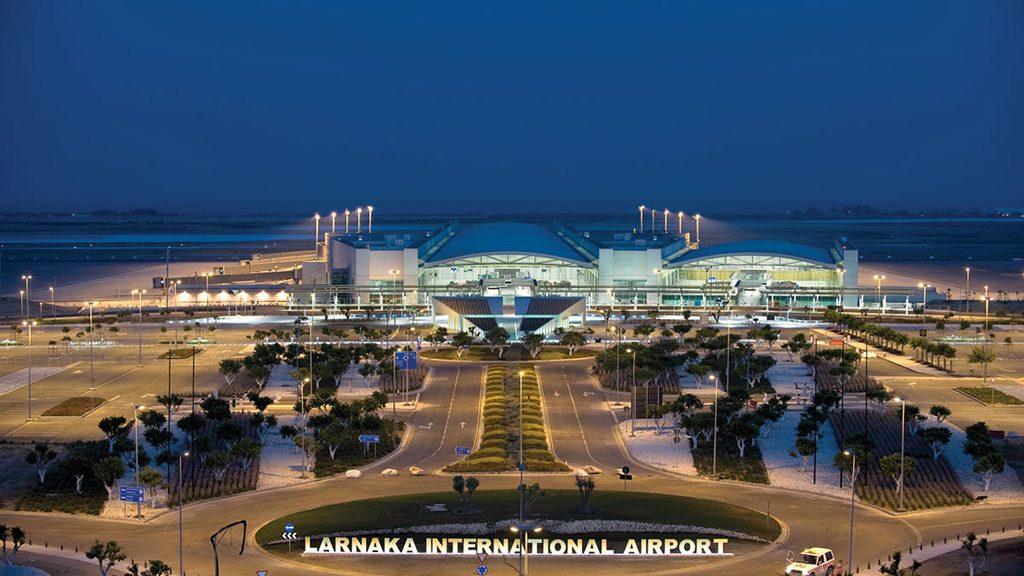 Larnaka aerodrom Kipar