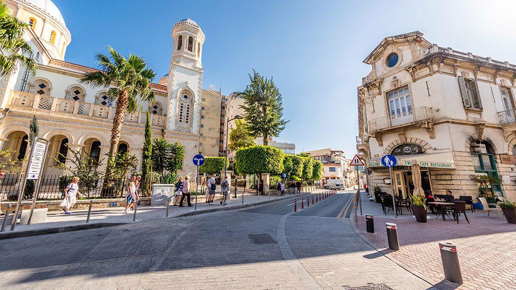 Limasol stari grad Kipar