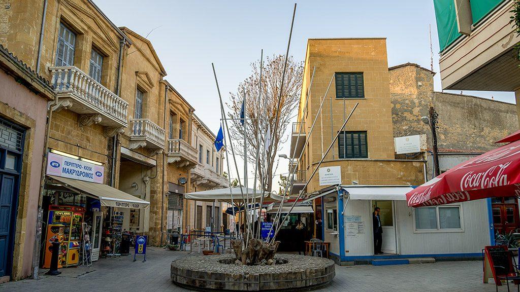 Zelena linija Nikozija Kipar