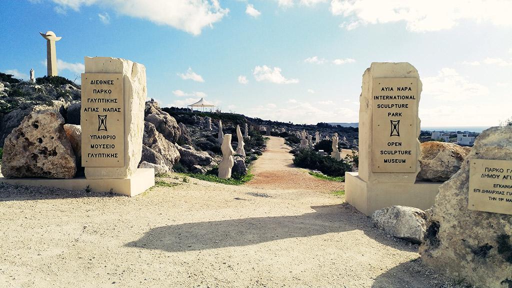 Park skulptura Aja Napa Kipar