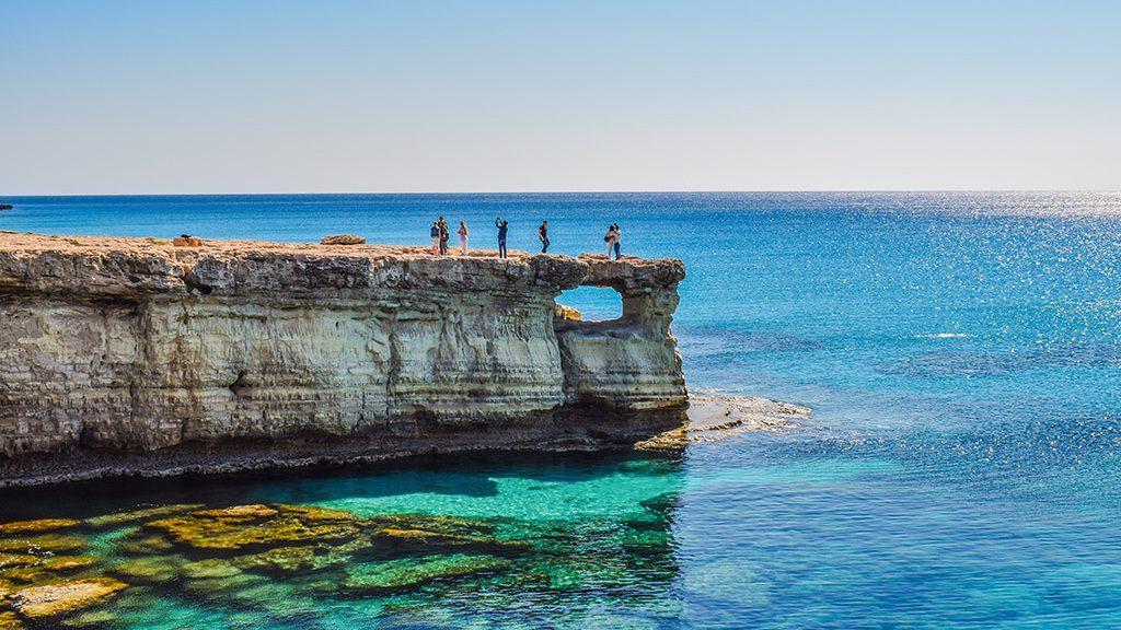 Sea Caves Aja Napa Kipar