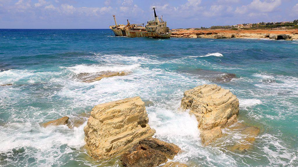 Edro III olupina broda Pafos Kipar