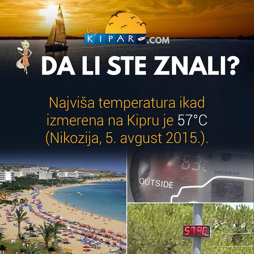 Klimatski ekstrem na Kipru - Moj Kipar
