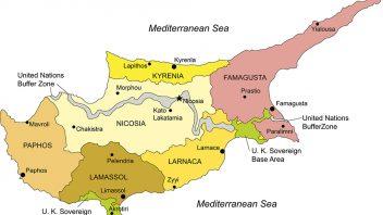 Regije Kipra