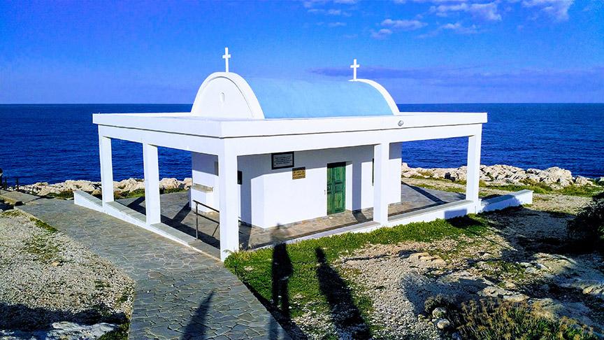 Kapela Agioi Anargyroi u Cape Greco - Moj Kipar