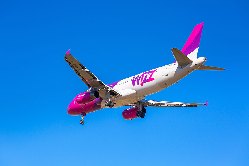 Avion avio kompanije WizzAir