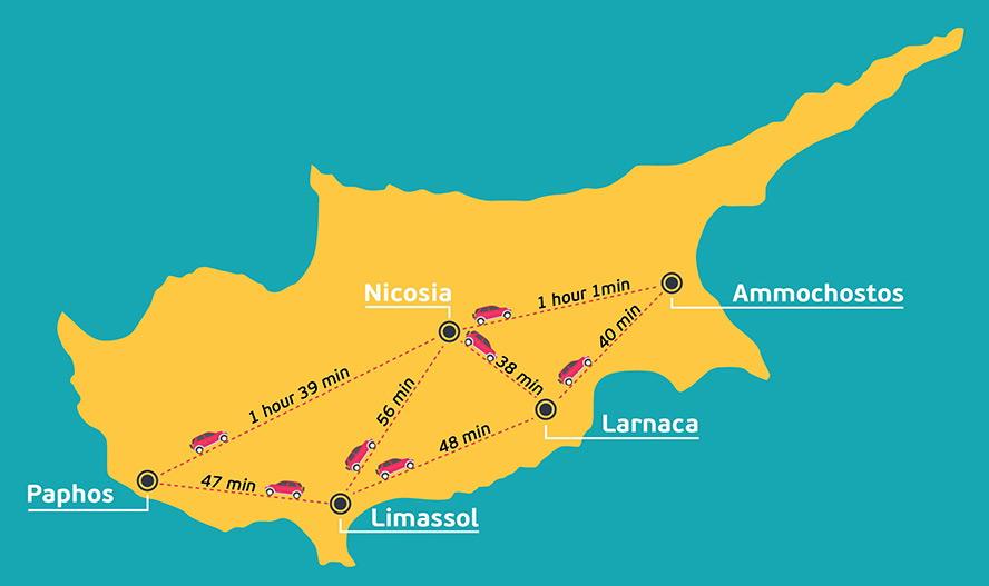Putevi na Kipru