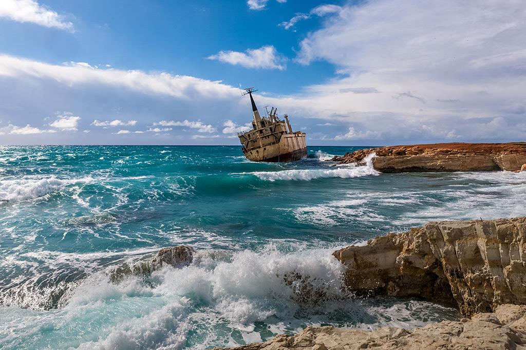 Brod EDRO III Pafos Kipar