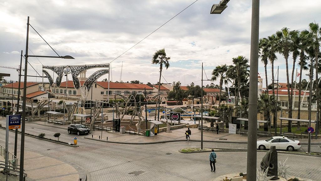 Aja Napa centar trg Kipar
