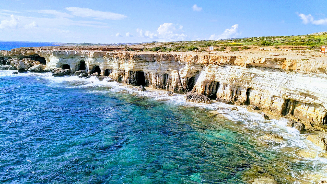 Morske pecine Sea Caves Aja Napa Kipar