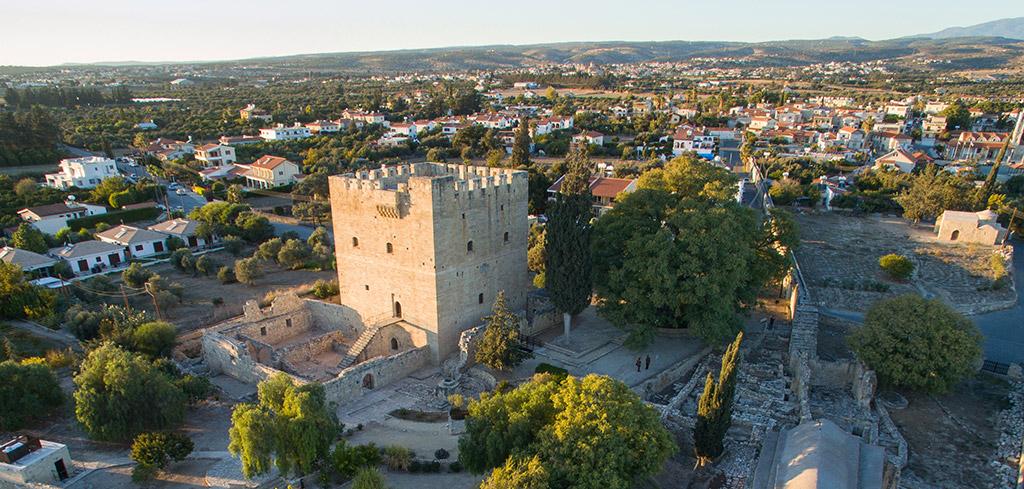 Dvorac Kolosi Limasol Kipar