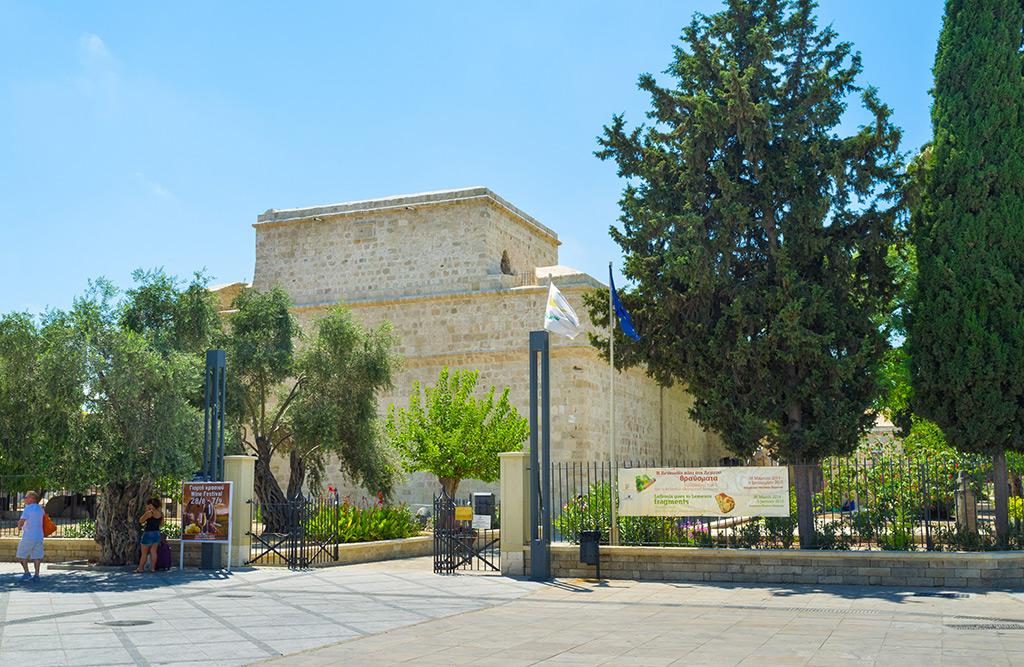 Zamak tvrdjava dvorac Limasol Kipar