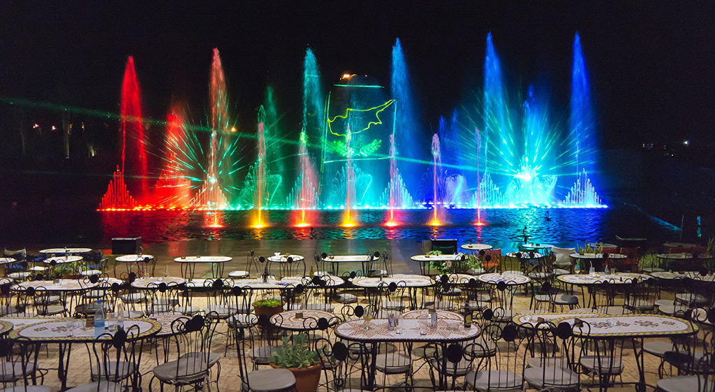 Magic Dancing Waters Protarasu Kipar