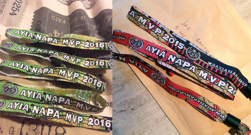 Ayia Napa Official Wristband
