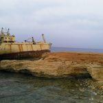 Edro III wreck Pafos Kipar