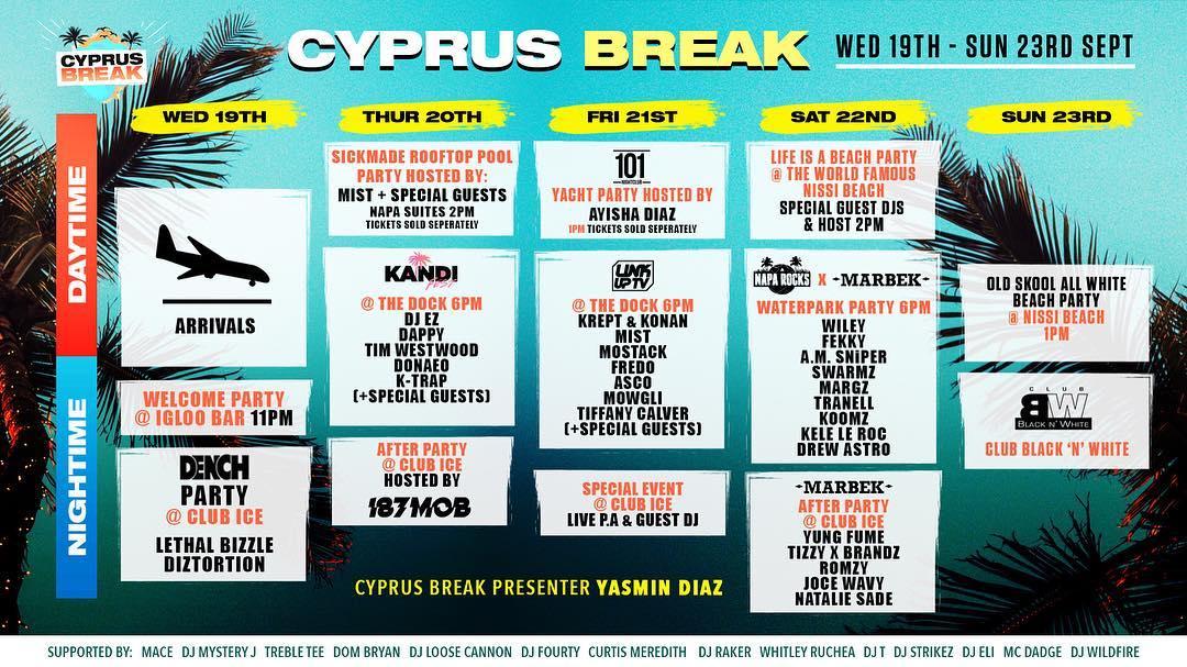 Cyprus Break Aja Napa Kipar
