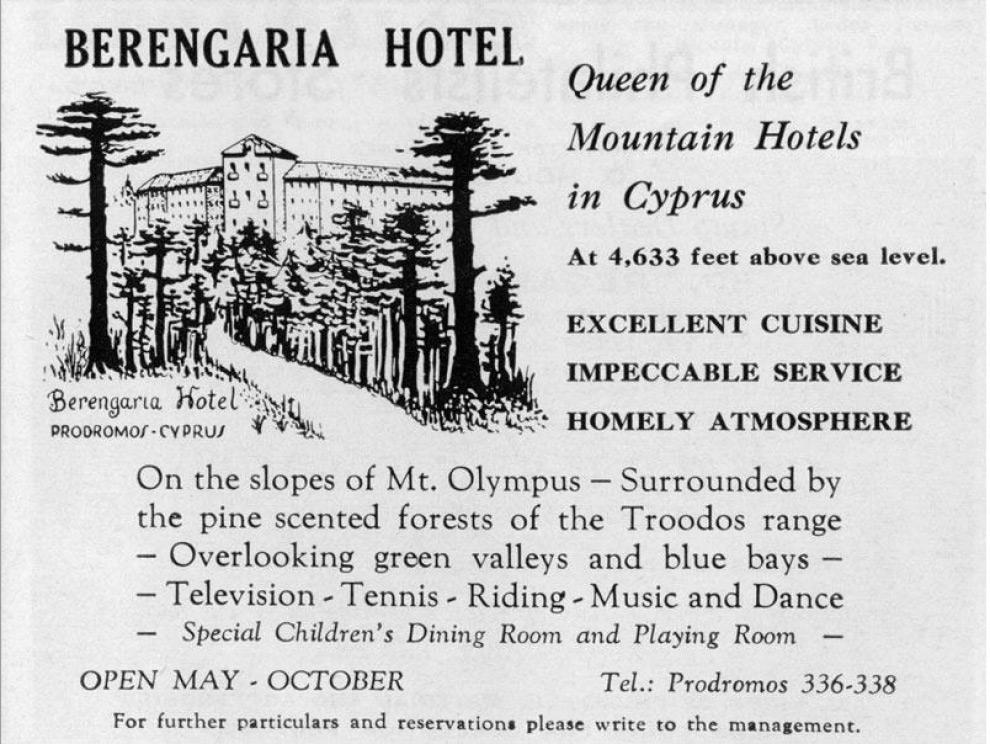 Hotel Berengaria Prodromos Kipar